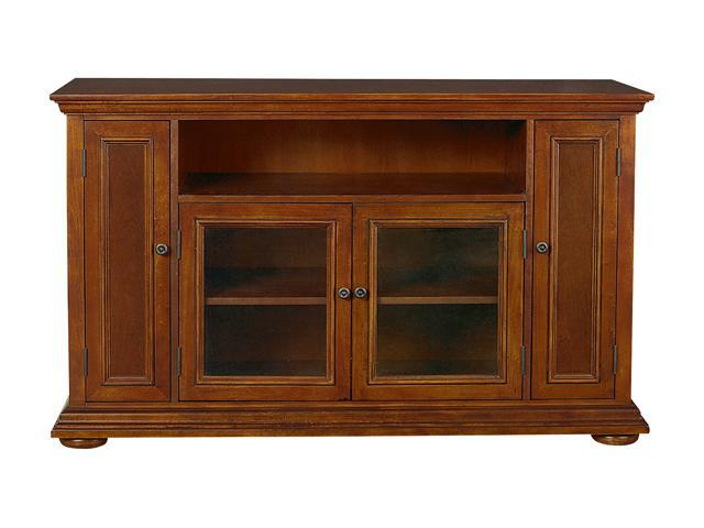 Home Styles Homestead 5527-10 Traditional Distressed Warm Oak TV Credenza