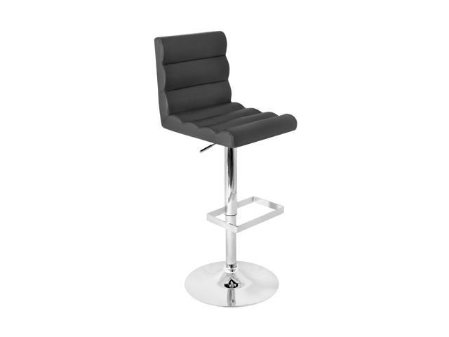 LumiSource Autoo Bar Stool Black