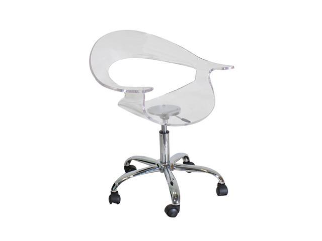 LumiSource Rumor Chair Clear Acrylic