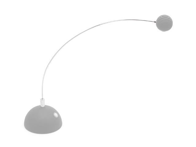 LumiSource Atomic Truffle LED Table Lamp Silver