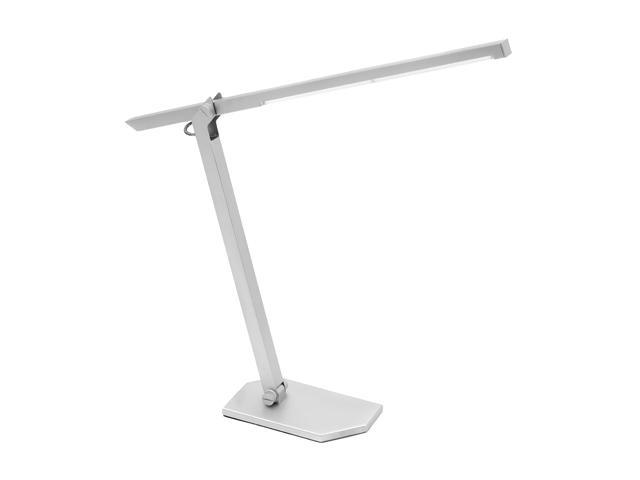 LumiSource LED Contort Table Lamp Silver