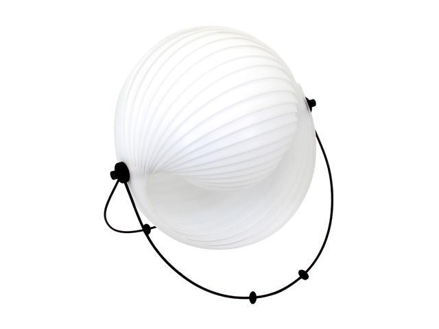 LumiSource Shell Table Lamp White