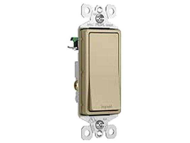 Legrand  TM870ABCC10  15A Single-Pole Decorator Switch, Antique Brass