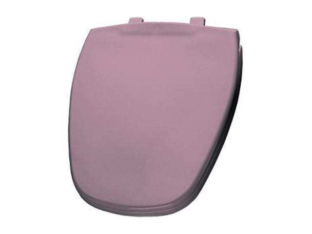 Bemis 1240200 303 Elongated Closed Front Toilet Seat in Dusty Rose