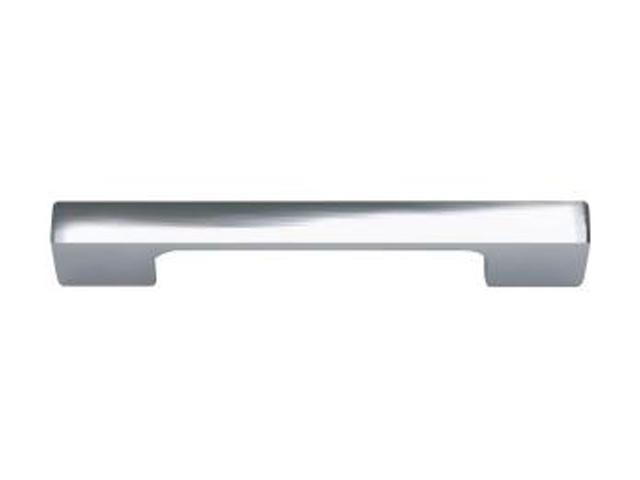 Atlas Homewares Successi Collection Polished Chrome 4.68 in. Thin Square Pull