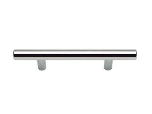 Atlas Homewares Successi Collection Polished Stainless Steel 5.35 in. Skinny Linea Pull