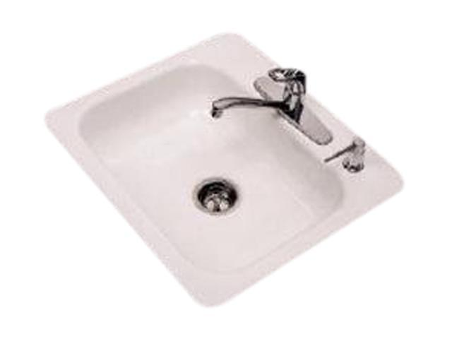 Bootz BTZ03129510K Topaz II Single Bowl Enameled Sink, White