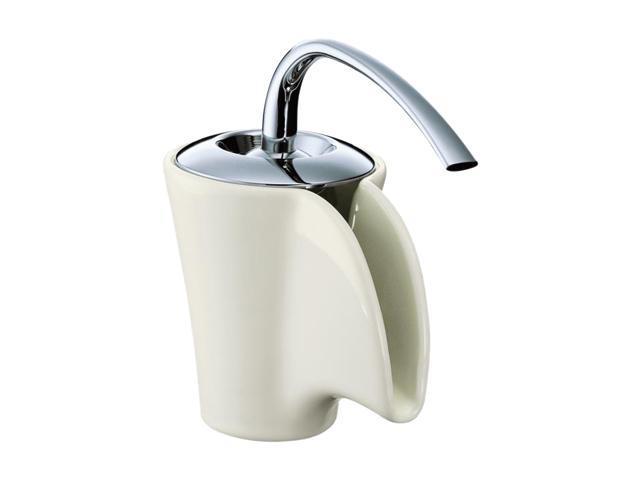 KOHLER K-11010-96 Euro Modern Vas Single-control Ceramic Lavatory Faucet