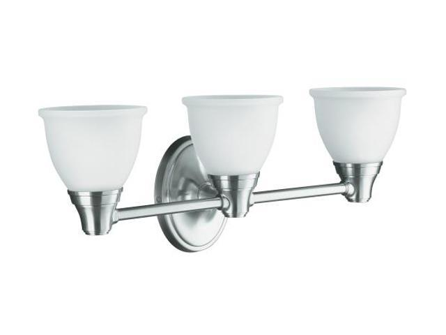Kohler French Gold Transitional Triple Light Sconce for Forté Faucet Line