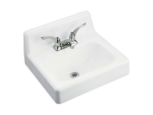 "Kohler K-2861-0 Hudson Wall-mount Lavatory with 4"" Centers"