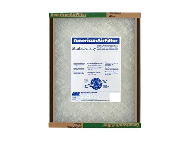 "American Air Filter 220-515-051 16"" X 22.25"" X 1"" StrataDensity Fiberglass Air Filter (12 Pack)"
