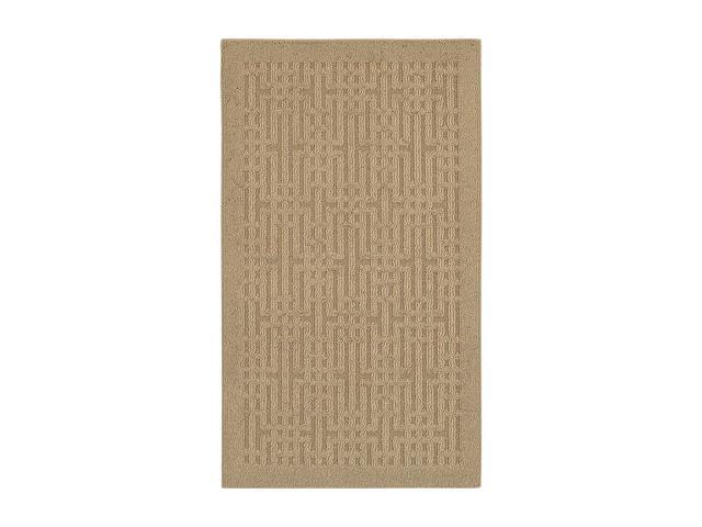 Mohawk Home Home Comforts Stacks Apple Butter Rug Taupe 30