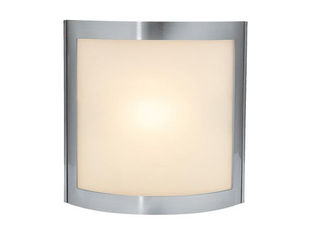 Access Lighting Sentinel Wall & Vanity- 1 Light Satin Finish w/ Frosted Glass