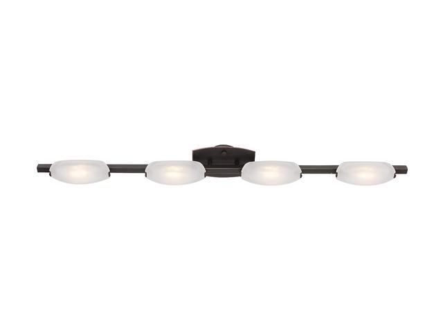 Access Lighting Nido Wall & Vanity- 4 Light Oil Rubbed Bronze Finish w/ Frosted Glass