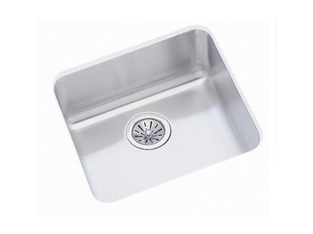 Elkay ELU1616 Gourmet Lustertone Undermount Sink, 16'' x 16'' x 7 7/8