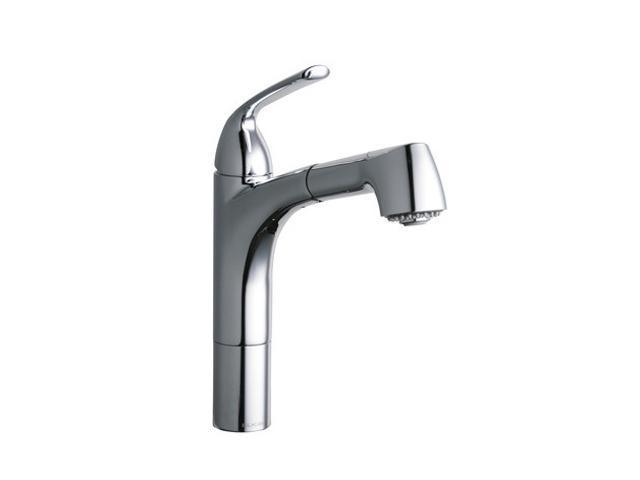 Elkay LKGT1041CR Gourmet Single Handle Kitchen Faucet Chrome