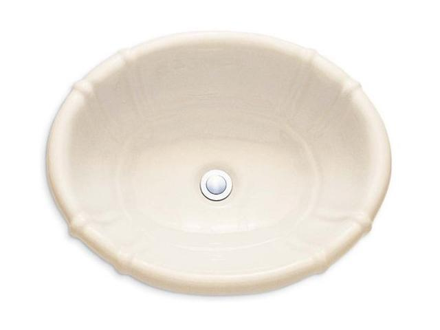 American Standard 0544.000.021 Ceramica Decorativa Countertop Sink - Bone