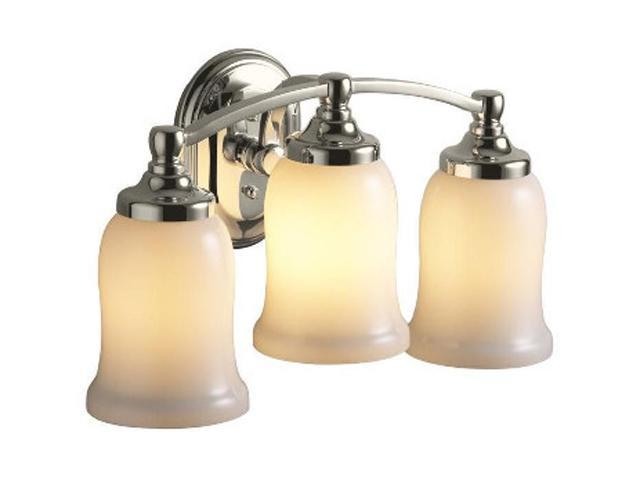 Kohler Polished Nickel Bancroft Triple Sconce - Polished Nickel