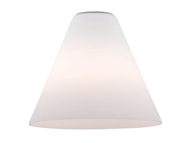 Access Lighting Inari Silk Contemporary White Glass Shade
