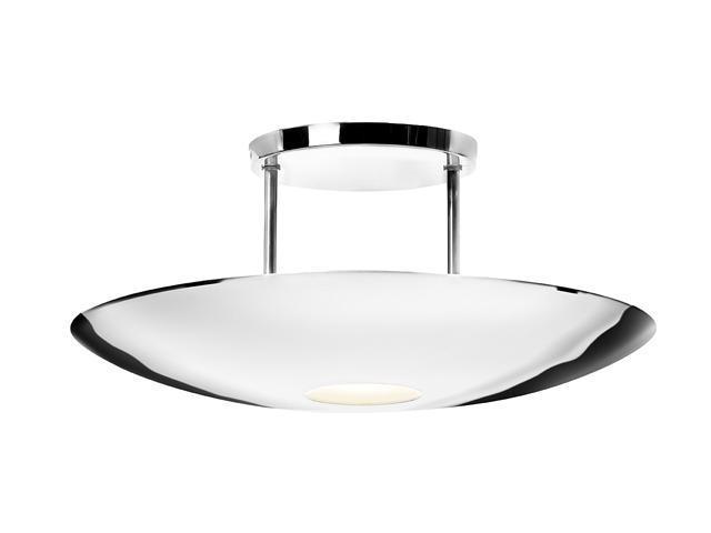 Access Lighting KromeSemi- 1 Light ChromeFinish w/ FrostedGlass