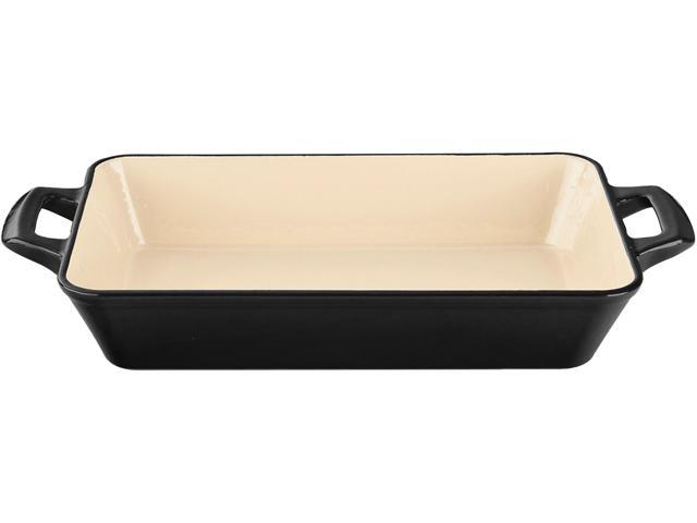 La Cuisine 13 x 8 x 2 1/2 (Medium) Deep Roasting Pan with 2 Handles