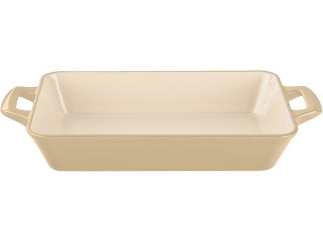 La Cuisine 11 x 7 x 2 (Small) Deep Roasting Pan with 2 Handles