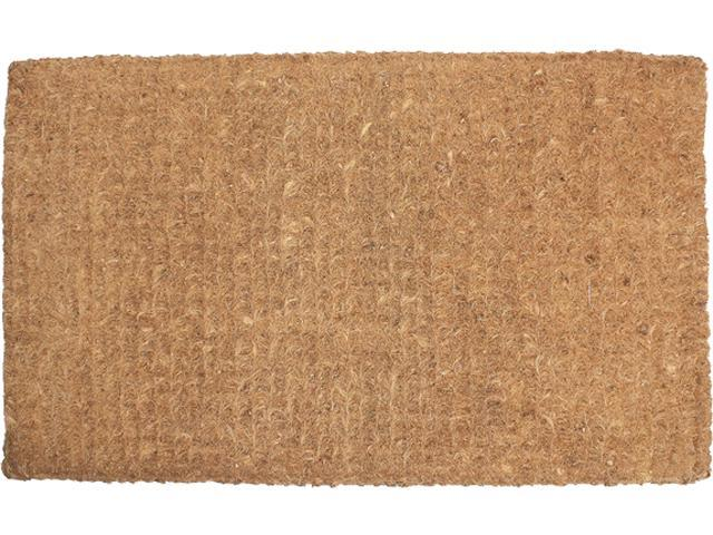 "J And M Home Fashions Imperial Coco Plain Doormat 30"" x 48"""