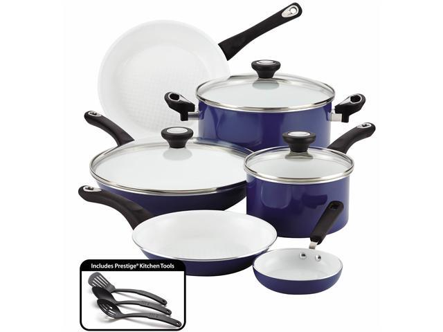 Farberware 12-Piece Cookware Set, Blue - Newegg.com