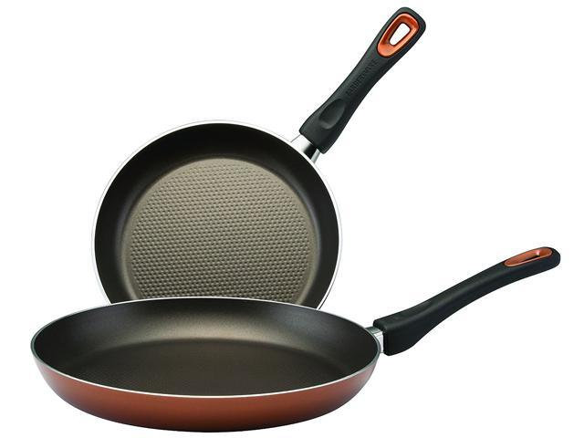 Farberware Dishwasher Safe High Performance Nonstick 9 in. and 11 in. Skillet Twin Pack