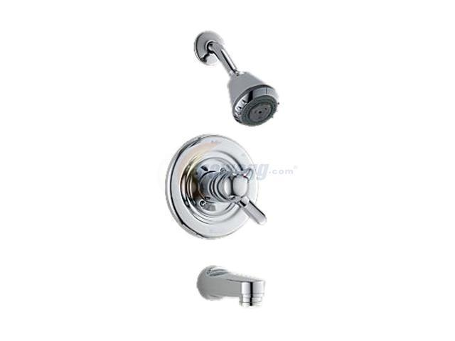 DELTA T17430 Innovations MonitoR 17 Series Tub and Shower Trim (Chrome)