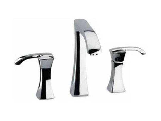 La Toscana 89CR214 Lady 8-Inch Widespread Lavatory Faucet with Pop-Up Drain