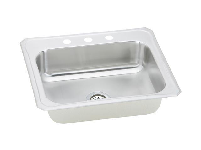 Elkay CR25223 Gourmet Celebrity Sink, Stainless Steel