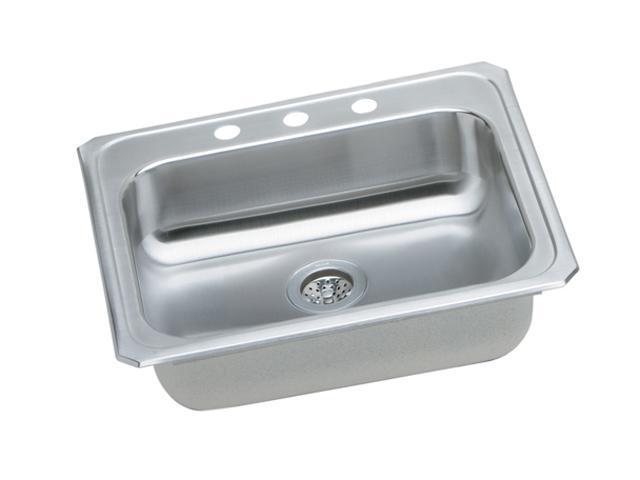 Elkay GECR2521R3 Gourmet Celebrity Sink, Stainless Steel