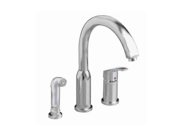 American Standard 4101.301.075 Arch Hi-Flow Kitchen Faucet Stainless Steel