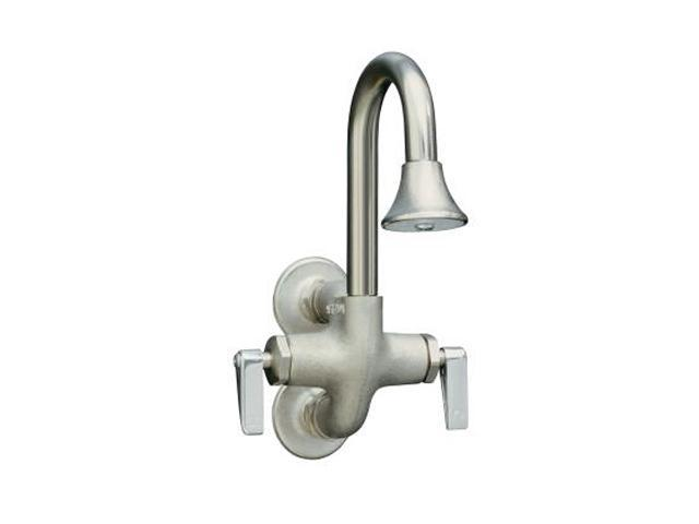 KOHLER K-8892-RP Cannock Wash Sink Faucet with Lever Handles Rough Plate