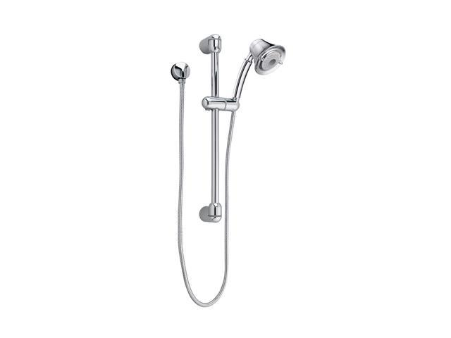 Hand Held Shower Kit, 4-3/4 In Dia, 2 GPM