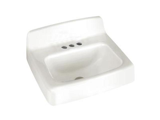 American Standard 4869.004.020 Regalyn Cast Iron Wall Hung Sink