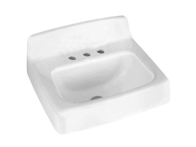 American Standard 4869.008.020 Regalyn Cast Iron Wall Hung Sink