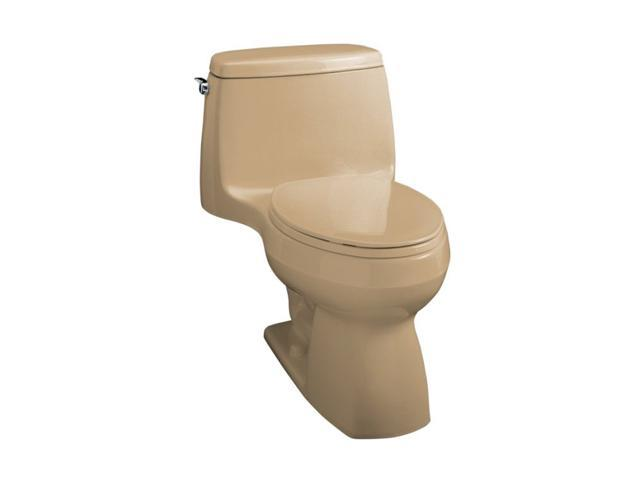 KOHLER K-3323-33 Santa Rosa Compact Elongated Toilet in Mexican Sand