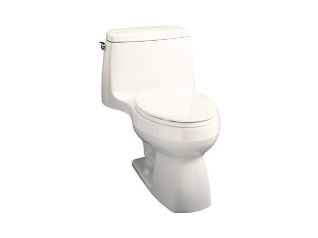 KOHLER K-3323-96 Santa Rosa Compact Elongated Toilet, Biscuit