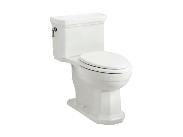 KOHLER K-3324-0 Kathryn Comfort Height Elongated One-Piece Toilet, White