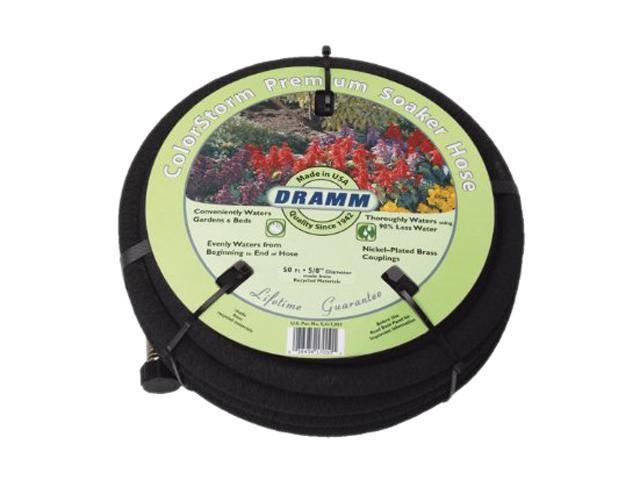 Dramm 10-17020 25' Black ColorStorm Premium Soaker Hose
