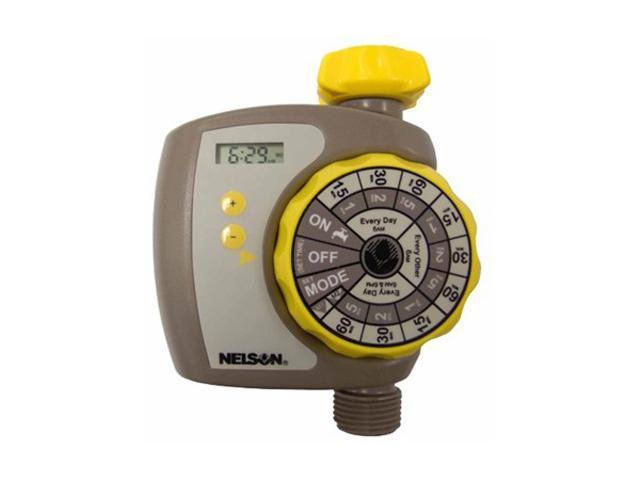 Nelson Electronic 2 In 1 Preset Timer