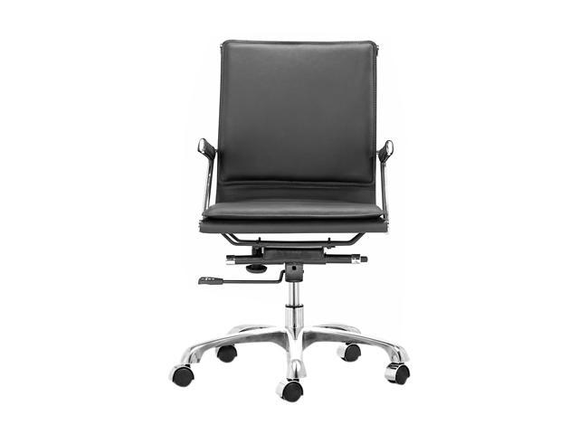 Zuo Modern Lider Plus Office Chair Black
