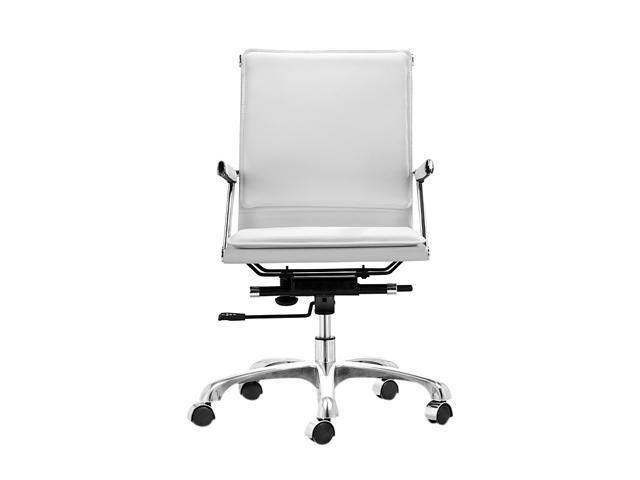Zuo Modern Lider Plus Office Chair White