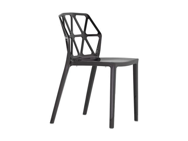 Zuo Modern Set of 4 Juju Dining Chair Black