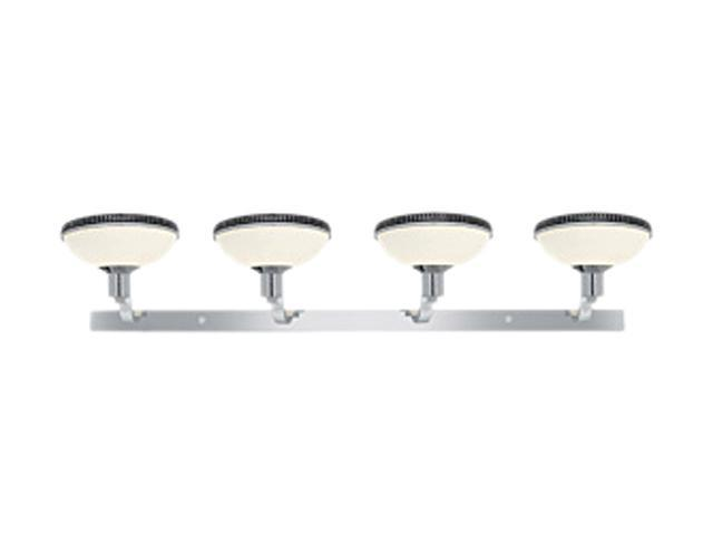 Access Lighting Frisco Wall & Vanity - 4 Light Chrome Finish w/ Opal Glass Bathroom Lighting