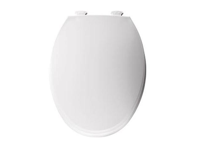Bemis 130EC 000 Elongated Closed Front Toilet Seat - White