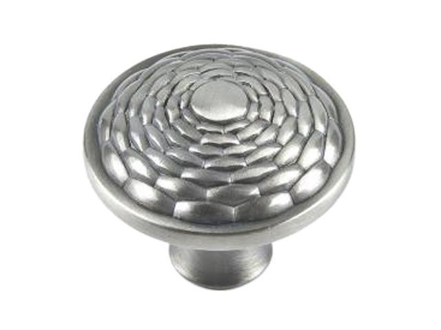 "Atlas  236-BRN  1.3"" Mandalay Round Knob - Brushed Nickel"