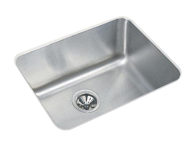 Elkay ELU2115 Gourmet Undermount Single Bowl Sink - Stainless Steel